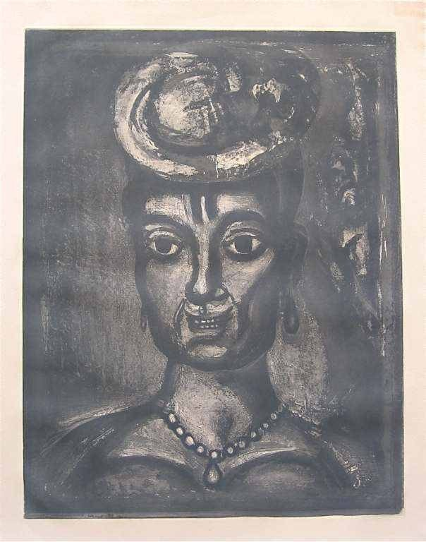 13: GEORGES ROUAULT ORIGINAL ETCHING FOR MISERERE