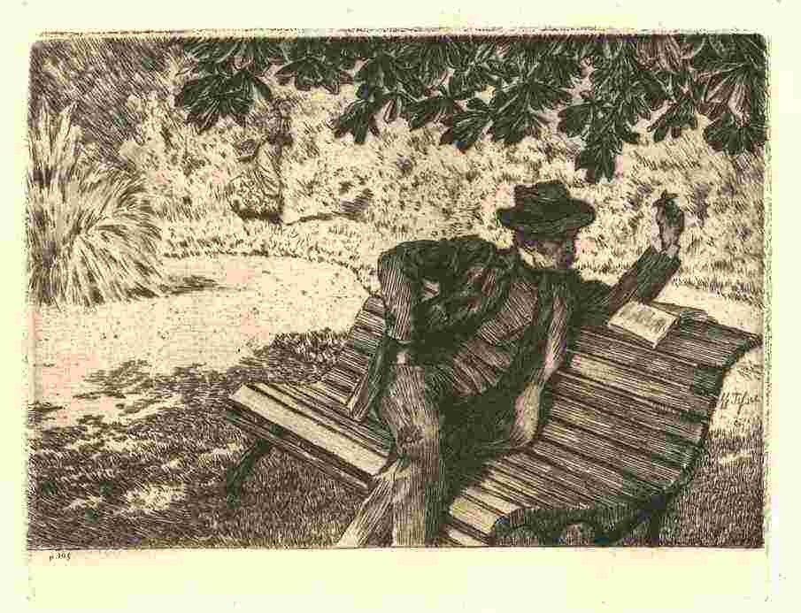 37: JAMES TISSOT ORIGINAL ETCHING