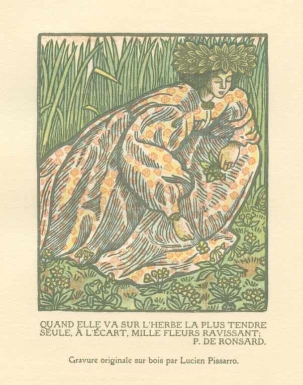19: LUCIEN PISSARRO ORIGINAL WOODCUT