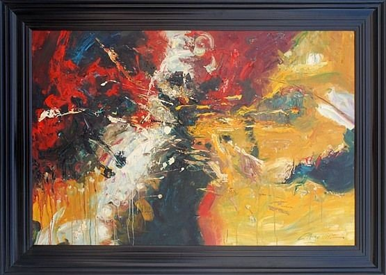 """23: """"ABSTRACT"""" - ORIGINAL OIL ON CANVAS"""