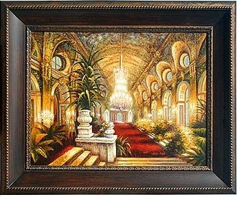 """117: """"CATHEDRAL"""" - ORIGINAL OIL ON CANVAS"""