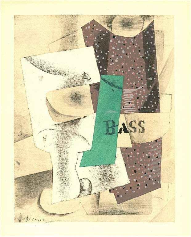 495: PABLO PICASSO 1929 POCHOIR