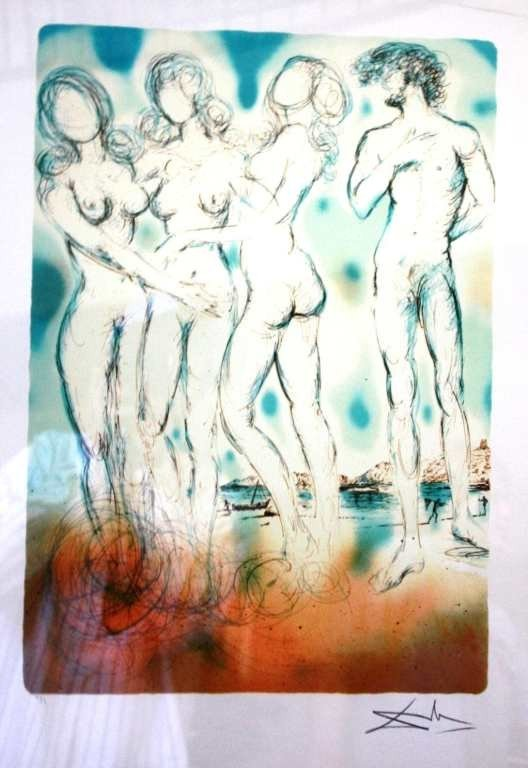 9: DALI LTD EDITION LITHOGRAPH