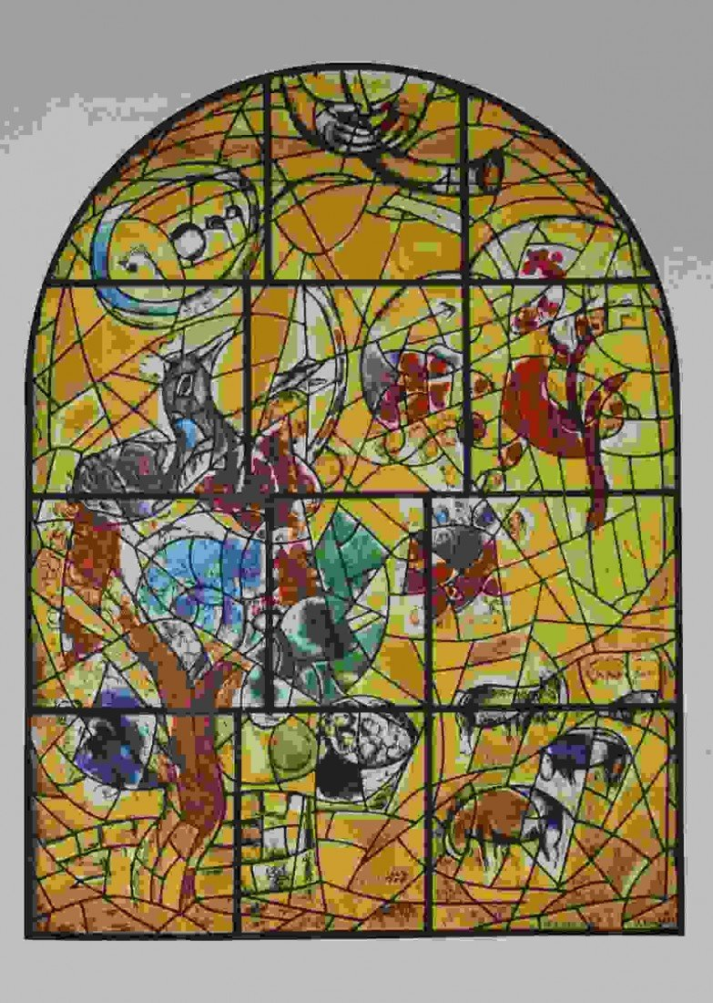 "35: CHAGALL ""THE TRIBE OF JOSEPH"" 1964"
