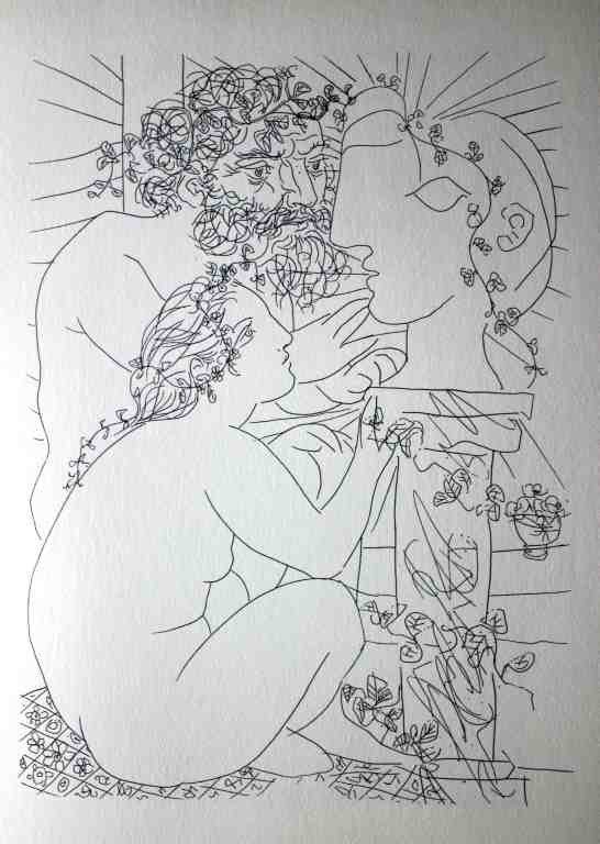 10: VINTAGE 1956 PICASSO LITHOGRAPH