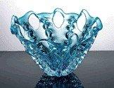 1130: HAND BLOWN ART GLASS BOWL