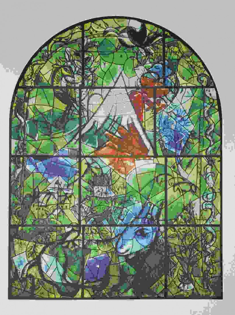 """5: CHAGALL """"THE TRIBE OF ISSACHAR"""" 1964"""