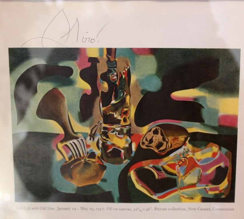 25: MIRO - HAND SIGNED LITHOGRAPH