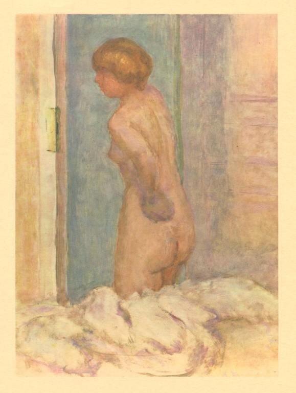 """33: PIERRE BONNARD """"NU"""" 1927"""