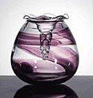 37: ART GLASS LIDDED JEWEL BOX