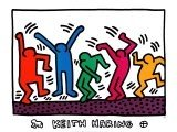 """6: KEITH HARING """"UNTITLED"""" LITHOGRAPH"""