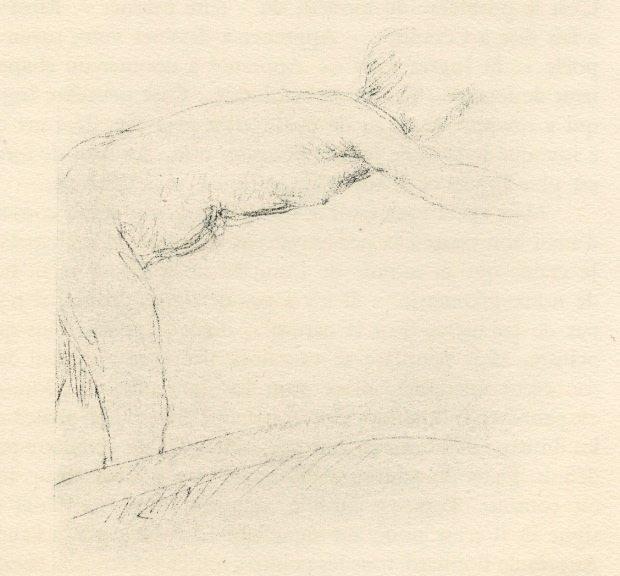 """22: PIERRE BONNARD """"NU PENCHÉ"""" ORIGINAL LITHOGRAPH"""