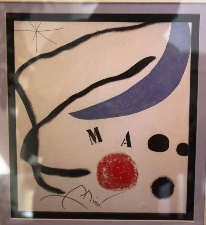 26: MIRO - HAND SIGNED LITHOGRAPH
