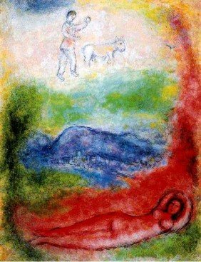 """MARC CHAGALL """"LE REVE"""""""