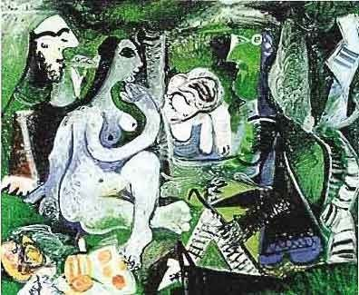 """8: PICASSO """"PICNIC GROUP"""""""