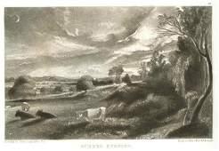 150: SIR JOHN CONSTABLE / DAVID LUCAS MEZZOTINT