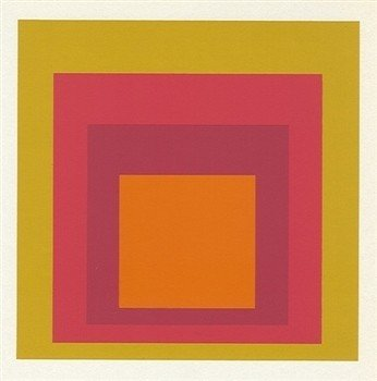 """200042: ALBERS SILKSCREEN """"HOMAGE TO THE SQUARE"""" 1977"""