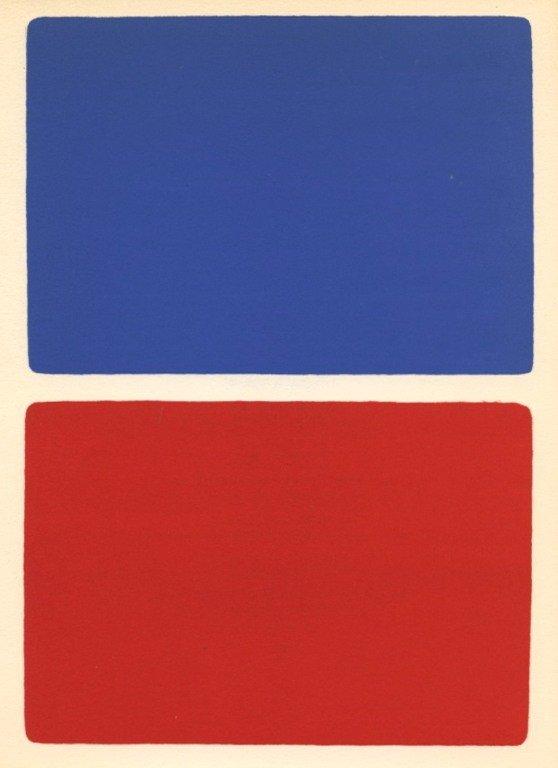 300021: KELLY ORIGINAL LITHOGRAPH (1966)