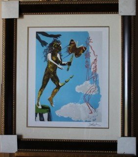 400011: DALI LIMITED EDITION GICLEE