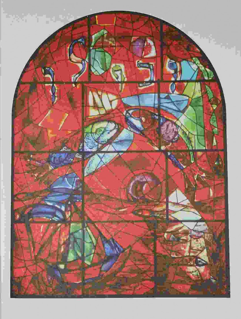 """500029: CHAGALL """"THE TRIBE OF ZEBULUN"""" 1964"""