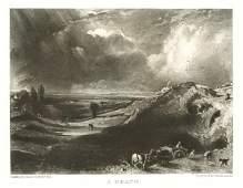 500069: SIR JOHN CONSTABLE / DAVID LUCAS MEZZOTINT