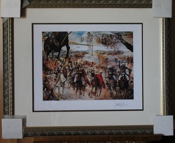 500008: DALI LIMITED EDITION GICLEE