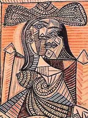 """600024: PICASSO """"WOMAN IN HAT"""""""