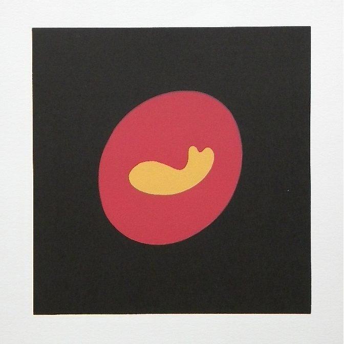 700009: JEAN ARP ORIGINAL WOODCUT - 1966