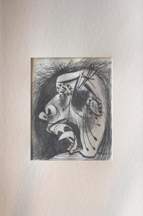 """700029: PICASSO """"STUDY OF GUERNICA"""" - 1937 - MINT"""