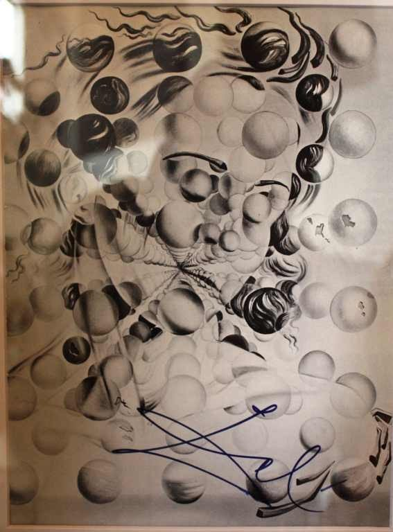 700085: DALI - HAND SIGNED LITHOGRAPH