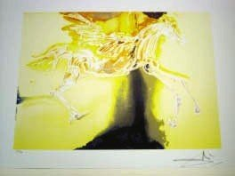 "DALI ""PEGASUS"" LITHOGRAPH - LIMITED EDITION"