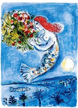 """801174: MARC CHAGALL """"BAY OF ANGELS"""""""