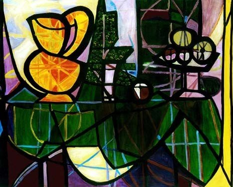 "100005: PICASSO ""PITCHER AND BOWL OF FRUIT"""