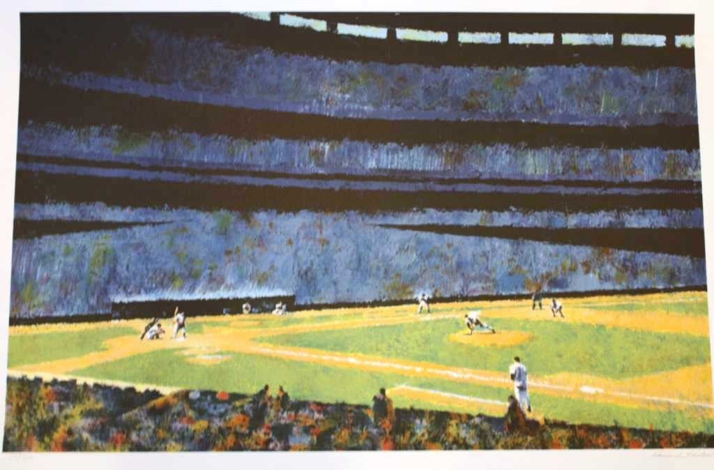 "100015: KOSLOW ""AMERICA'S PASTIME"" HAND SIGNED"
