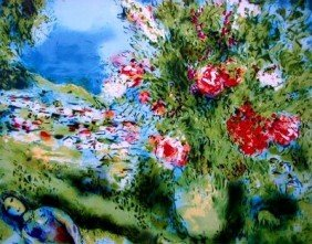 "MARC CHAGALL ""PAYSAGE"""