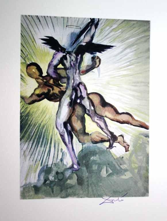 200126: 1960 - SALVADOR DALI WOODBLOCK