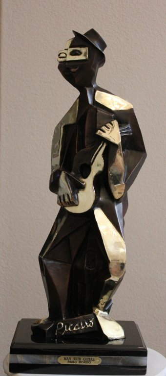 """200148: PICASSO'S - """"MAN WITH GUITAR"""""""
