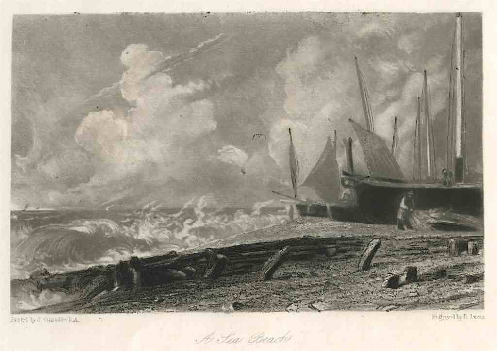 300003: SIR JOHN CONSTABLE / DAVID LUCAS MEZZOTINT
