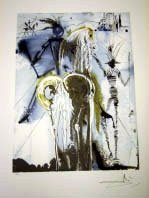 "300007: DALI ""DON QUIXOTE"" LITHOGRAPH - LIMITED EDITION"