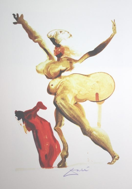 300045: 1960 - SALVADOR DALI WOODBLOCK