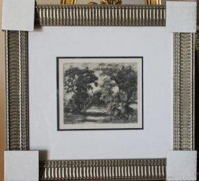 ANTIQUE RENOIR ORIGINAL HELIOGRAVURE - 1919