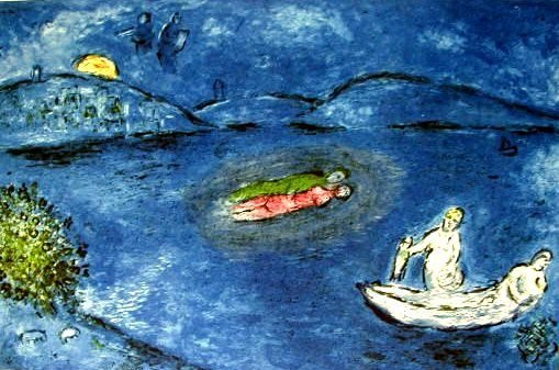 "300405: MARC CHAGALL ""ECHO"""