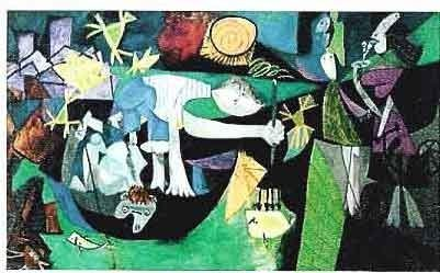 """300513: PICASSO """"BOY AND ANIMALS"""""""