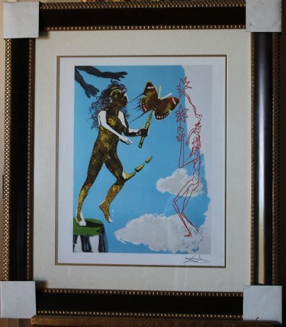 400010: DALI LIMITED EDITION GICLEE
