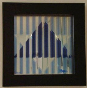 """AGAM HAND SIGNED """"STAR OF HOPE"""" 1976"""