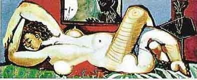 """400182: PICASSO """"NUDE LYING DOWN"""""""