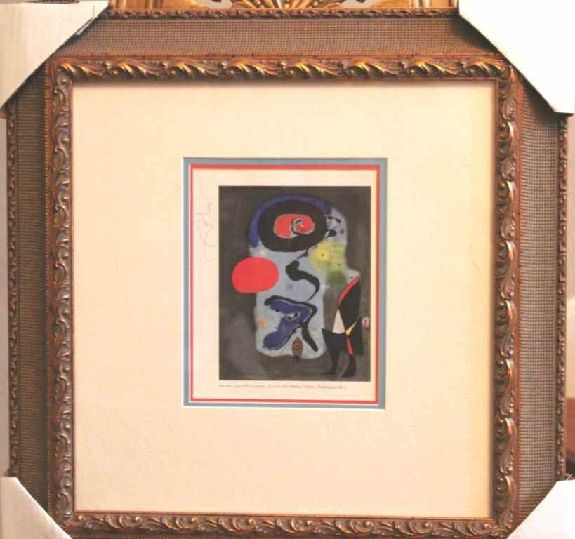 100021: MIRO - HAND SIGNED LITHOGRAPH