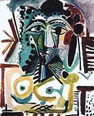 """100037: PICASSO """"HEAD OF A SEATED WOMAN"""""""