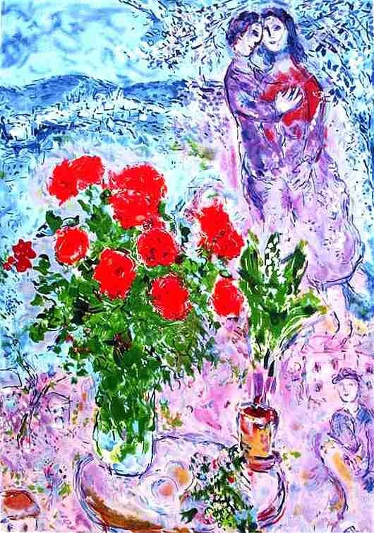 200024: CHAGALL LIMITED EDITION LITHOGRAPH