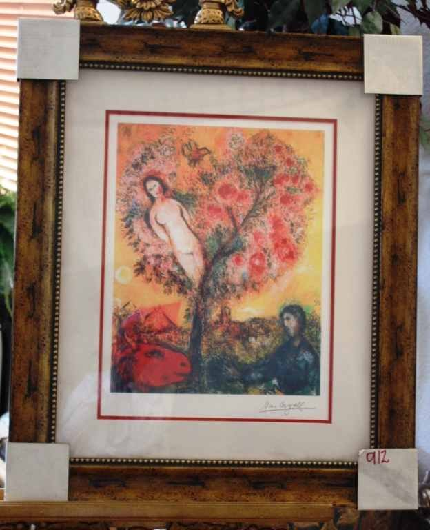 200034: CHAGALL LTD EDITION LITHOGRAPH